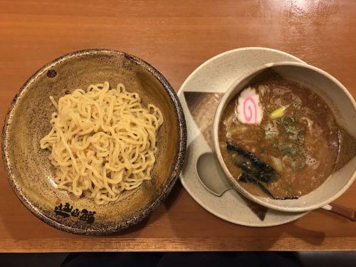 温 つけ麺 魚介豚骨